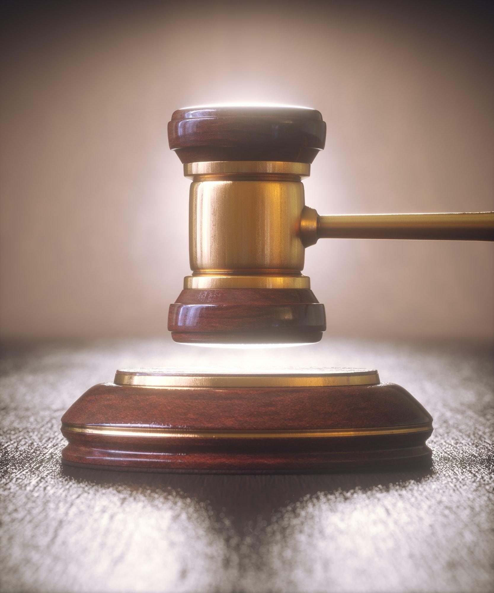 Judge Hammer Gavel Bid Auction